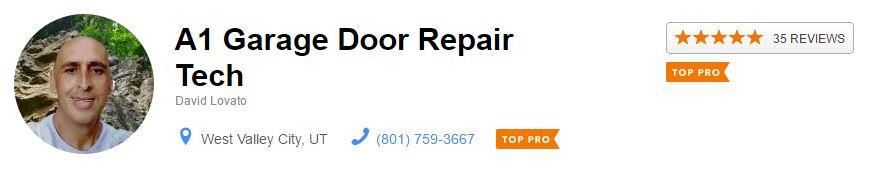 A1 Garage Door Repair Best Reviews In Utah On Thumbtack