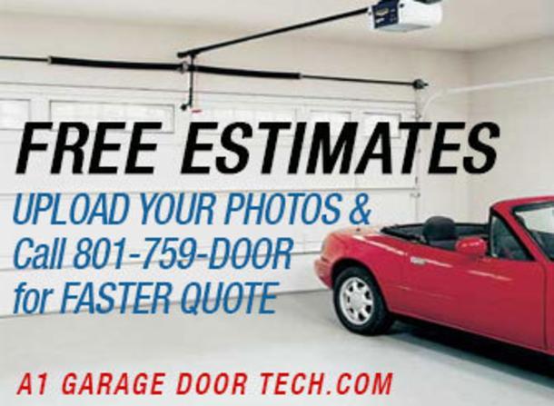 Getting garage door repair in Lansing
